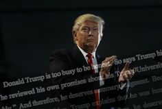 The dueling motions come just as the lawsuits against Trump University and Trump's own attacks on the judge have erupted as a major issue in the presidential campaign.  Video excerpts of Trump's depositions in two of the cases were filed with Curiel this week and are due to be publicly released shortly