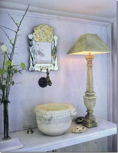 heirloom philosophy: The Powder Room Discovery