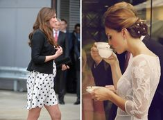 Whatever Kate wears, she always looks chic! Images via Rue Magazine