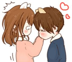 it's love by toco I Love You Girl, Cute Bear Drawings, Manga Couple, Cute Anime Chibi, Cute Cat Gif, Line Sticker, Cute Bears, Stickers, Cute Characters