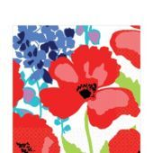 Floral Explosion Lunch Napkins 16ct - Party City