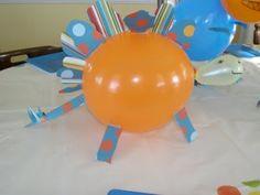 One more dinosaur balloon animal.