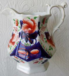 Antique Victorian Gaudy Welsh