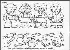 Crafts,Actvities and Worksheets for Preschool,Toddler and Kindergarten.Lots of worksheets and coloring pages. Preschool Writing, Preschool Learning, Preschool Crafts, Crafts For Kids, Grade R Worksheets, Kindergarten Worksheets, Worksheets For Kids, Community Helpers Worksheets, Community Helpers Kindergarten