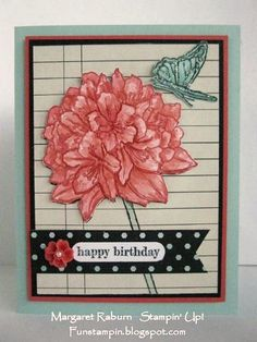 Best Thoughts Birthday! SUO by mraburn - Cards and Paper Crafts at Splitcoaststampers