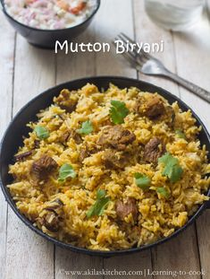 www.akilaskitchen.comMutton Biryani | How to make Mutton Briyani step by step | SundaySpecial Recipeswww.akilaskitchen.com