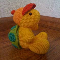 Amigurumi schildpad