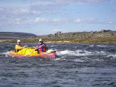 paddling on the Lorillard