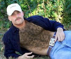 Hairy Men, Bearded Men, Hot Country Men, Mustache Men, Perfect Beard, Male Pattern Baldness, Hommes Sexy, Hairy Chest, Mature Men