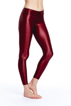 Pin for Later: Get in the Patriotic Spirit With All-American Red, White, and Blue Activewear Koral Lustrous R Rise Red Legging Koral Lustrous R Rise Red Legging ($92)