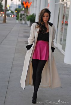 Short skirt long jacket with lyrics – Global trend skirt blog