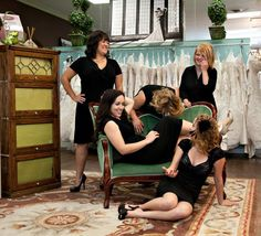 Alicia's Bridal Staff - Toni Lynn Photography #candid #staffphoto