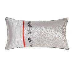 Deco Kenji 30x60cm Filled Cushion Silver