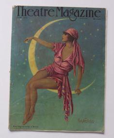 Theatre Magazine June 1922 w/Theatre & Silent Film Stars Plus Many Great Ads