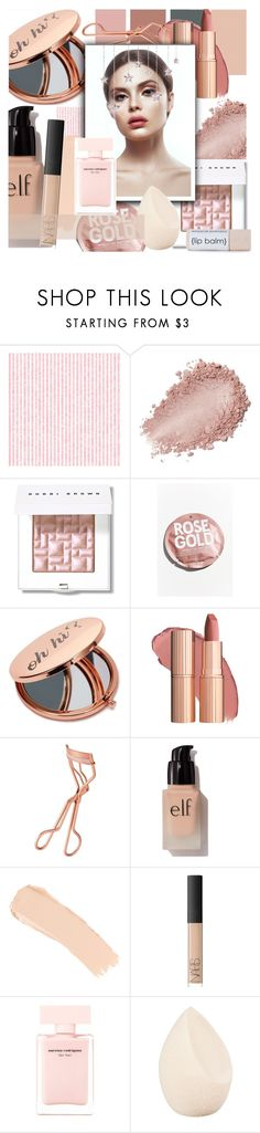 """""""Nude beauty"""" by floralandmay ❤ liked on Polyvore featuring beauty, Bobbi Brown Cosmetics, Urban Outfitters, Miss Selfridge, Tweezerman, e.l.f., La Mer, NARS Cosmetics, Narciso Rodriguez and Christian Dior"""