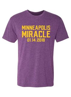 Men s Minnesota Vikings Minneapolis Miracle T-Shirt  e4dcd61e9
