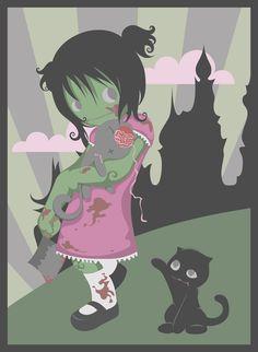 zombie girl by ~nekofoot on deviantART