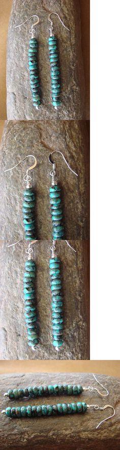 Navajo Pearls Earrings ~ Fun /& Flirty Hoops ~ Style #7116