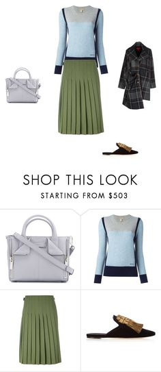 """""""Untitled #16398"""" by explorer-14576312872 ❤ liked on Polyvore featuring Alexander McQueen, Burberry, Le Kilt, Sanayi 313 and Vivienne Westwood Red Label"""