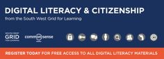 Digital Literacy free learning materials from: SWGfL