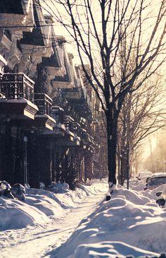 Tout sur l'hiver… Québécois