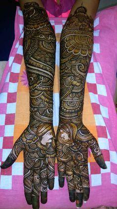 Anita's Mehndi Artist, Bridal Mehndi Artist in Mumbai Arabic Bridal Mehndi Designs, Wedding Henna Designs, Rajasthani Mehndi Designs, Indian Henna Designs, Engagement Mehndi Designs, Stylish Mehndi Designs, Mehndi Designs 2018, Mehndi Designs For Girls, Beautiful Mehndi Design