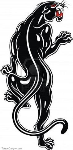 Black Panther For Tattoo Stock Photo 12021825 Free Download picture 13718