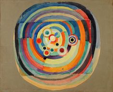 Football by Robert Delaunay, 1918 Robert Delaunay, Sonia Delaunay, The Rite Of Spring, Centre Pompidou, Abstract Painters, Les Oeuvres, Printmaking, Sculptures, Museum