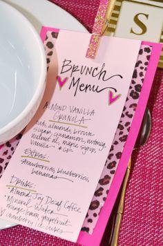 Galentine's Day | Gluten Free + Vegan Brunch Menu // KiKiMac.me #Valentine