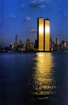World Trade Center Twin Towers    This beautiful picture of the...