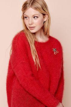 #Comptoir7 #Latem #SintMartensLatem #Gent #DesPetitsHauts #winter2017 #aw17 #wintercollectie #fashion #mode #fashionblogger #dameskleding #boetiek #webshop #AvailableInWebshop #pull #rood