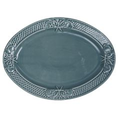 Rabbit Oval Platter  Pottery Jo