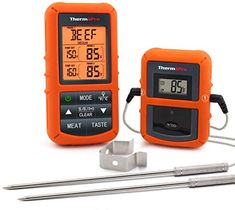 EAAGD 100 Ft Wireless Digital Meat Thermometer Remote BBQ Kitchen Cooking LED