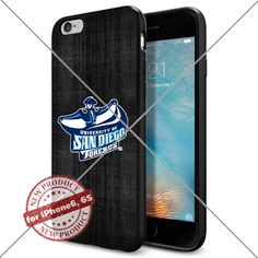 WADE CASE San Diego Toreros Logo NCAA Cool Apple iPhone6 6S Case #1508 Black Smartphone Case Cover Collector TPU Rubber [Black] WADE CASE http://www.amazon.com/dp/B017J7S02G/ref=cm_sw_r_pi_dp_u0Zvwb1GSY2YV