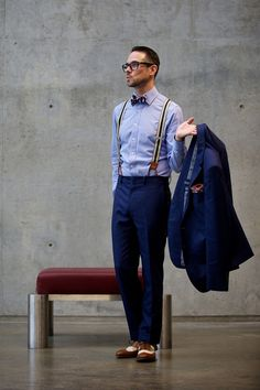Well Suited, Indeed: Brian Of He Spoke Style On 5 Ways To Wear A Blue Suit. | Blog | The Fix