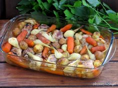 One Pot Pasta, Okra, Pot Roast, Main Dishes, Sausage, Chicken, Ethnic Recipes, Easy, Food