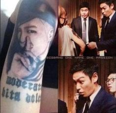TOP's face!!!! OMG!!!!! XD XD
