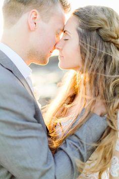 Surprise elopement on the Swedish seaside via Magnolia Rouge