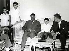 Ahmed Sekou Toure with Nasser.
