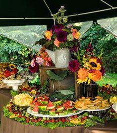 Fruit Display Wedding Desserts 59 Ideas For 2019 Wedding Appetizer Table, Appetizers Table, Wedding Appetizers, Wedding Desserts, Wedding Table, Wedding Rustic, Wedding Ideas, Wedding Foods, Wedding Inspiration