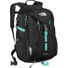 The North Face Surge Womens Backpack - Black