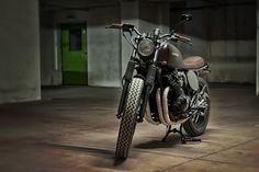 #custom #motorcycles #Motorecyclos #bikes Jap Rat #scrambler #caferacer based on #yamaha xj 600