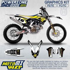 87.35$  Watch here - http://alizgm.shopchina.info/go.php?t=32784328970 -   Customized Team Graphics Backgrounds Decals 3M Custom FX Stickers  For Husqvarna  2014 15 16 17 FE TE FC TC 250 350 450  500cc 87.35$ #bestbuy