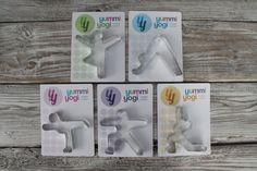 Bring some yoga into your kitchen!  Made in Vermont from US-sourced materials, Yummi Yogi cookie cutters are now available in both boutiques.  Perfect for a weekend baking session, adding a fun shape your homemade granola bars, or to fuel a creative play-dough sessions with your little ones. #Yoga