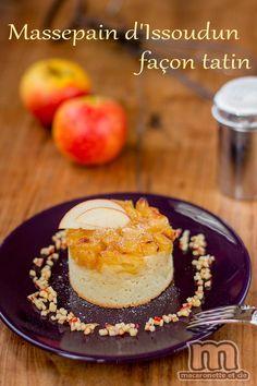 Massepain d'Issoudun façon tatin et sa brunoise de pomme à la vanill