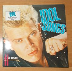 "Billy Idol ""Songs - 11 Of The Best"" (1988)"