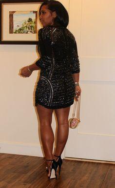New Years Eve Dress - Parker Dress, Dolce & Gabbana Bag, Giuseppe Zanotti Heels Black Women Fashion, Womens Fashion, New Years Eve Dresses, Beautiful Black Women, Beautiful Legs, Beautiful Pictures, Queen, Mode Style, Swagg