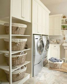 #beautiful #laundry #room #laundryroom #clean #lines  #stunning #stylish #functional #design #home #homedesign #homedecor #luxurylife #thehamptons #hamptonstyle #pic #picstitch #picoftheday #igers #exclusivestylehamptons