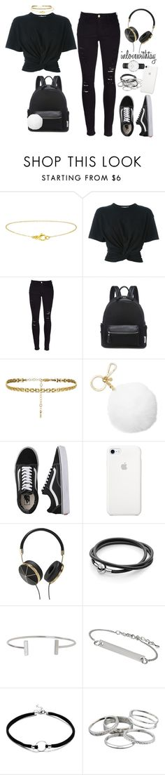 """21♡"" by inlovewithtay on Polyvore featuring T By Alexander Wang, Frame, Michael Kors, Vans, Frends, Humble Chic, Topshop, Kendra Scott and Daniel Wellington"