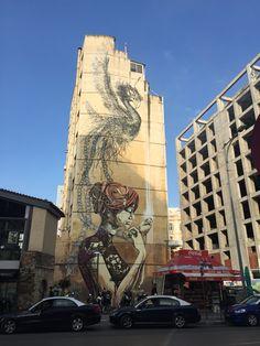 Some Bad ass street art in Thessaloniki Greece